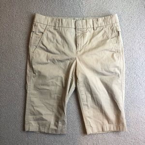 Vince Tan Bermuda Shorts